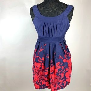 Spense Petite Sleeveless Scoop Neck Tulip Dress 10